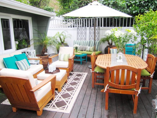 how to build wood outdoor furniture